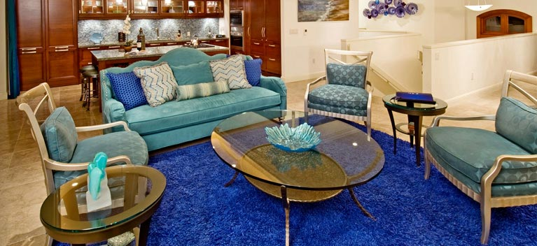 Ocean's Invitation Living Room Suite